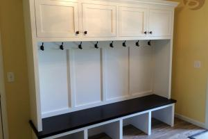 Handmade Mudroom Entryway Bench Storage