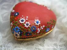 Handmade Polymer Clay Pendant Lenahandmadejewelry