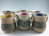 Handmade Pottery Coffee Mugs Mug Zwellynpottery