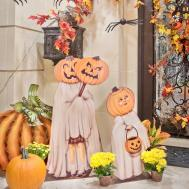 Happy Halloween Decor Outdoor Porch Entryway