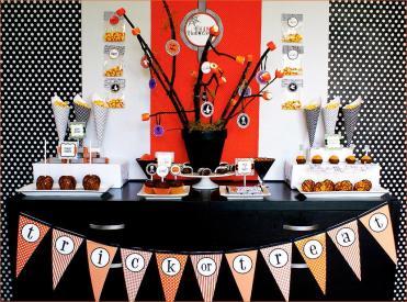 Happy Halloween Diy Dessert Table Hostess