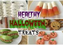 Healthy Halloween Treats Diy Easy Recipes