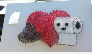 Heart String Art Diy Learn Make Your Own