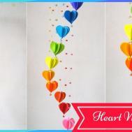 Heart Wall Decoration Shocking Diy Make Simple