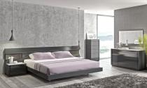 High Class Wood End Bedroom Furniture Long