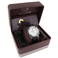 His Hers Matching Watches Centorum Diamond Watch Set