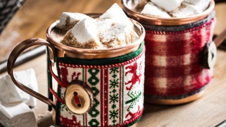 Holiday Mug Cozy Martha Stewart