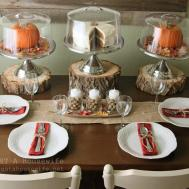 Holiday Tablescapes Thanksgiving Christmas Just