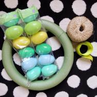 Holly Goes Lightly Diy Easter Egg Wreath