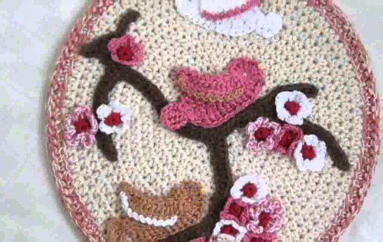 Home Decor Crochet Design Decoration
