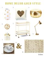Home Decor Gold
