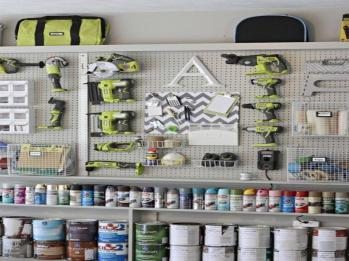 Home Decorate Ideas Garage Organization