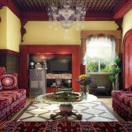 Home Design Exciting Moroccan Style Living Rooms