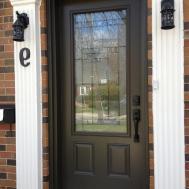 Home Design Surprising Modern Glass Front Doors