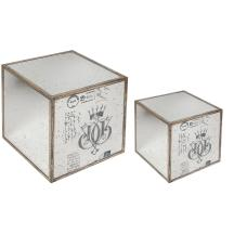 Home Mirror End Table Piece Set