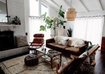 Home Tour Modern Bohemian Inspired Family Sanctuary