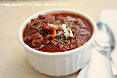 Homemade Chili Recipe Perfect Solution Cold