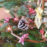 Homemade Christmas Tree Decorations Natural Moved