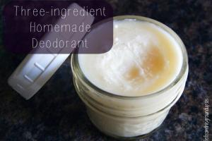 Homemade Deodorant Coconut Oil Stuff Really