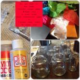 Homemade Jar Jack Lanterns Davis Day