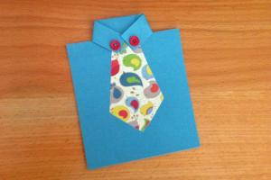 Homemade Tie Cards Father Day Modernmom