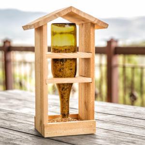 Homemade Wooden Bird Feeders Birdcage Design Ideas