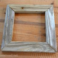 Homeroad Rustic Driftwood Frame