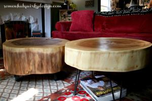Hometalk Diy Table Large Tree Slices