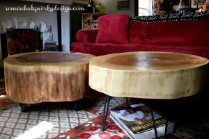 Hometalk Diy Table Large Tree Slices