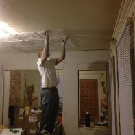 Hometalk Super Easy Diy Faux Tin Ceiling