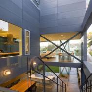 House Creative Interior Design Concrete Wall Home