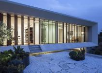 House Mediterranean Villa Paz Gersh Architects