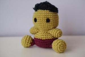 Hulk Amigurumi Pattern Superhero Avengers Marvel Easy Diy