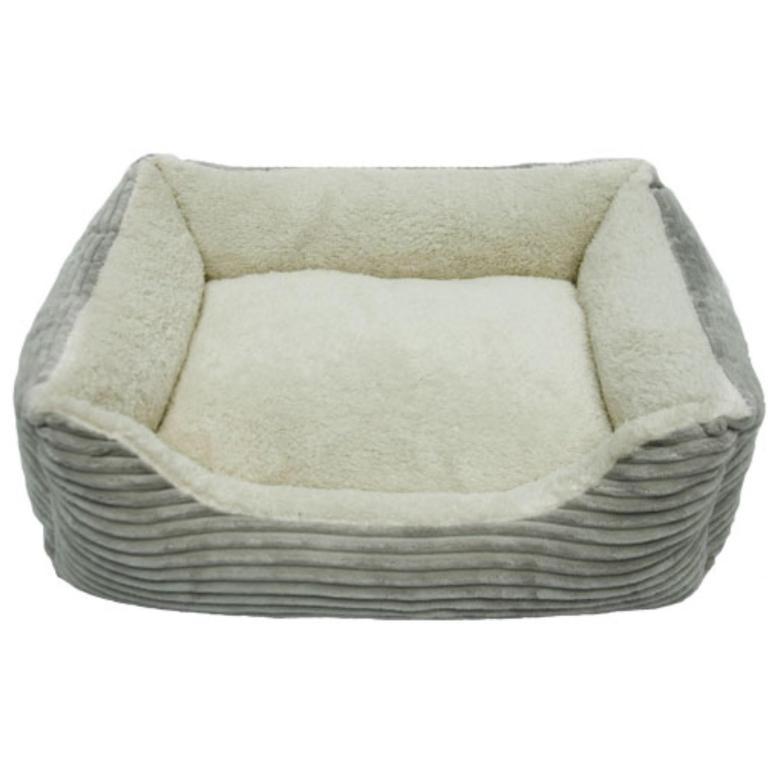 Iconic Pet Luxury Lounge Bed Light Gray