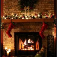 Ideas Adorable Christmas Mantel Decorating