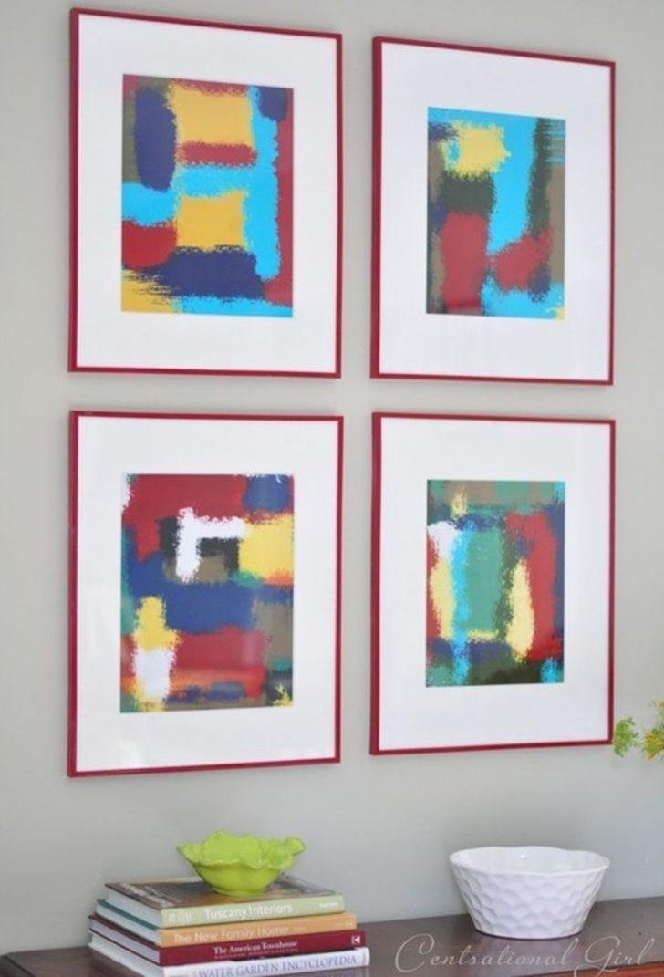 Ideas Diy Modern Abstract Wall Art
