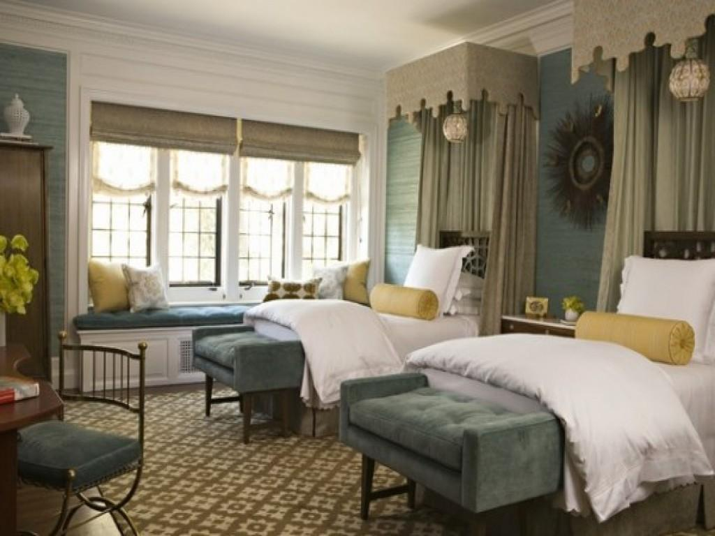 Classy Twin Bed Guest Bedrooms That Can Make Great Decor Accents Inspire Design Ideas Decoratorist