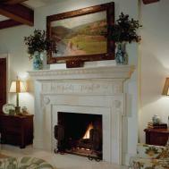 Ideas Stone Fireplace Beautiful Mantel Decorating