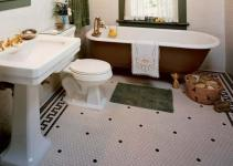 Ideas Using Hex Tiles Bathroom Floors