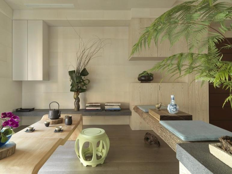 Impressive Modern Asian House Tae Interior Design