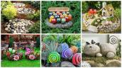 Impressive Stone Garden Decorations Everyone Can Make