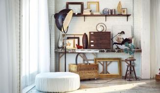 Industrial Bedrooms Interior Design Home
