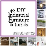 Industrial Furniture Diy Brightness Project
