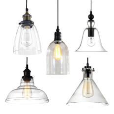 Industrial Modern Diy Ceiling Lamp Light Glass Pendant