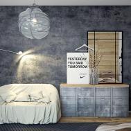 Industrial Style Bedroom Interior Design Ideas