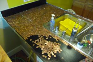 Install Penny Countertop Your Kitchen Make