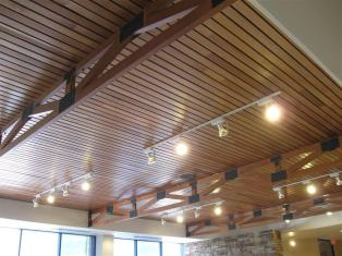 Installing Armstrong Wood Ceiling Modern