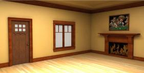 Interior Captivating Home Decoration Using White