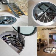 Interior Charming Design Ideas Round Glass