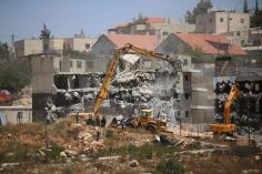 Israel Demolish Palestinian Homes Expand
